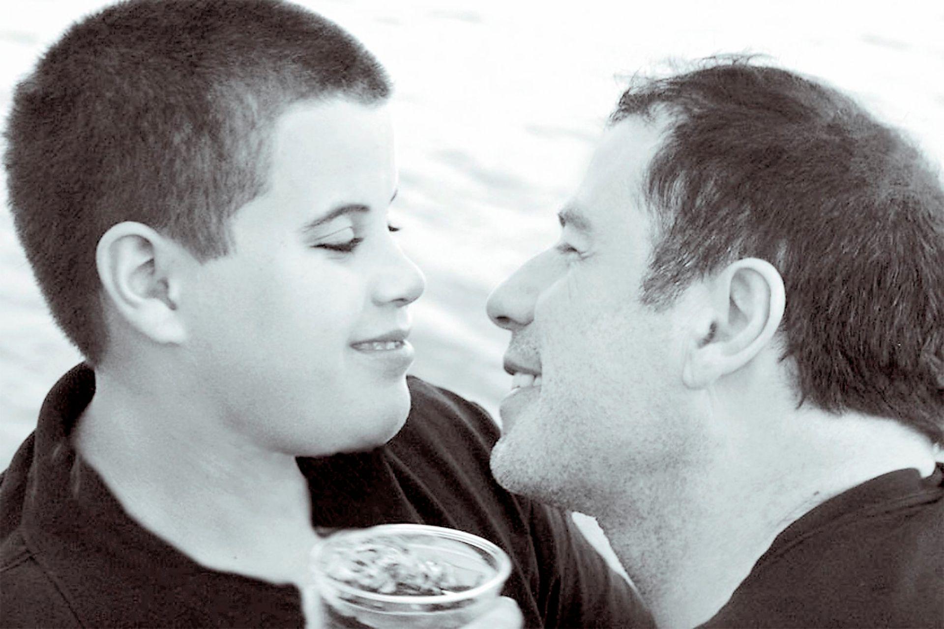 Travolta y su hijo Jett