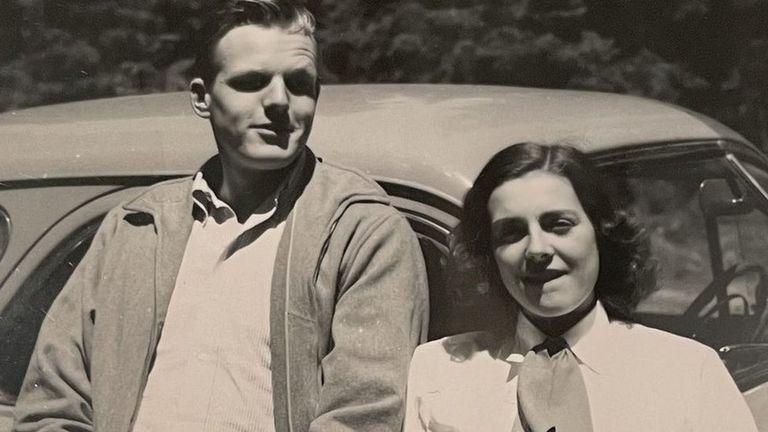 Cuando era niña, Ann soñaba con convertirse en monja, pero en cambio encontró el amor con su esposo Richard Miller.