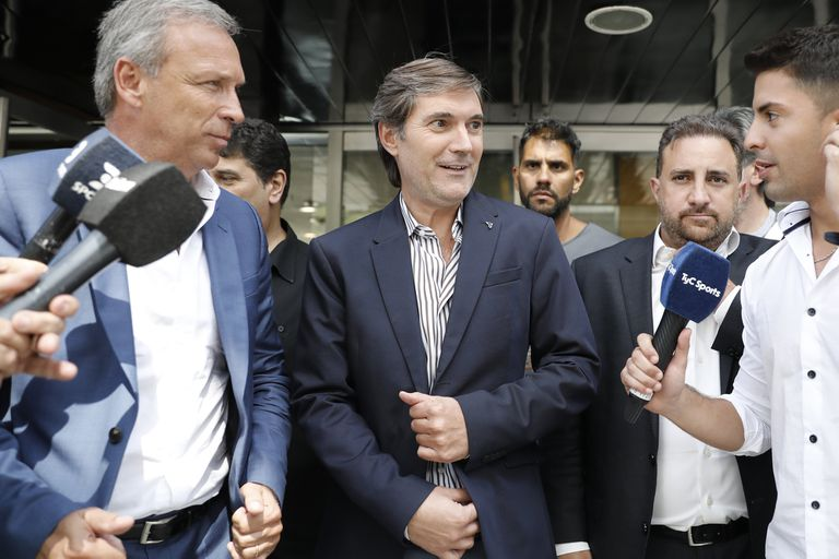 Mariano Elizondo, presidente de la Superliga