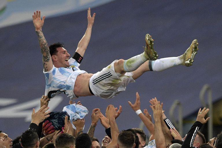 Lionel Messi tuvo números increíbles durante la Copa América que le permitieron liderar varios rubros en comparación con las mismas estadísticas de la Eurocopa