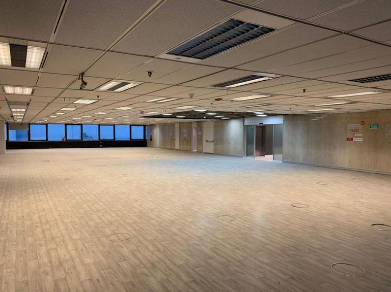 En total, el edificio tiene 12.500 m² de superficie rentable
