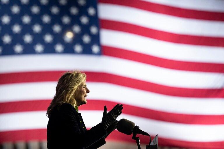 La nueva primera dama de Estados Unidos, Jill Biden
