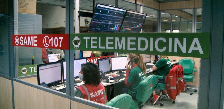 El nuevo servicio de Telemedicina del SAME