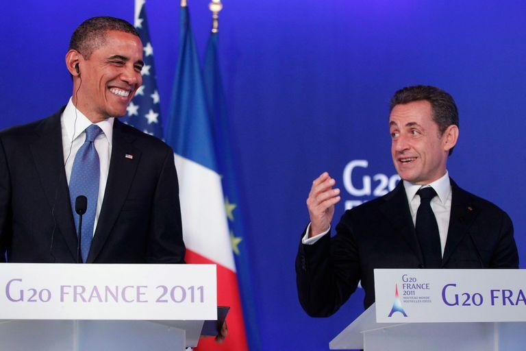 Antes de una conferencia de prensa del G20 entre los presidentes francés. Nicolas Sarkozy, y el entonces líder estadounidense, Barack Obama, los mandatarios criticaron Al primer ministro israelí Benjamin Netanyahu.