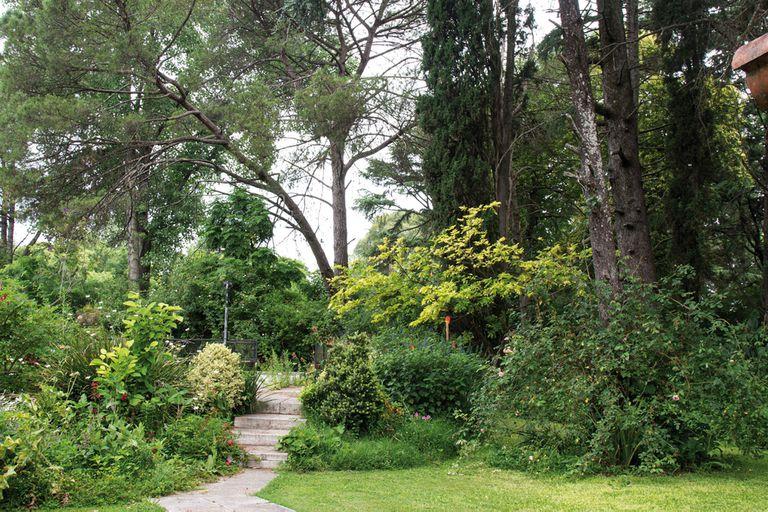 Un jardín natural donde predominan la experimentación y el amor por las plantas