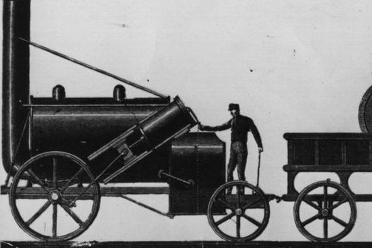 La llegada de la máquina a vapor dejó obsoleto al transporte mediante animales