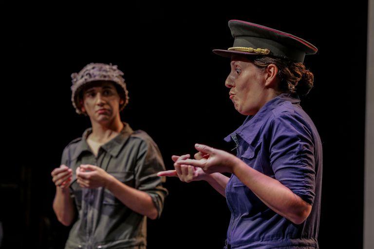 Actores señantes: la lengua de señas y la actuación, en el Cervantes online