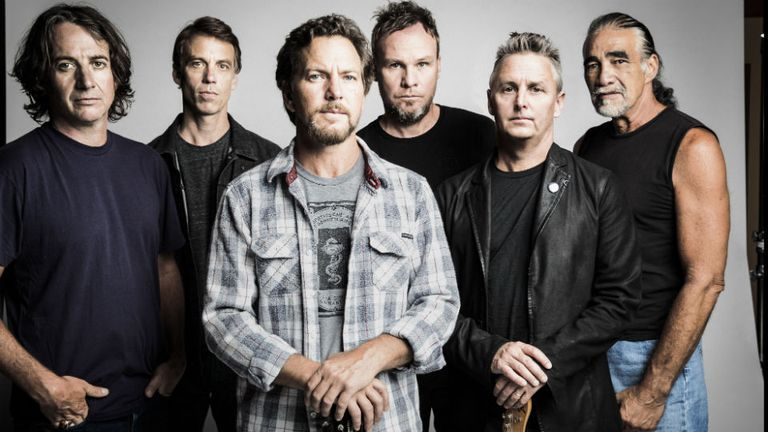 Pearl Jam llega al Rock & Roll Hall of Fame