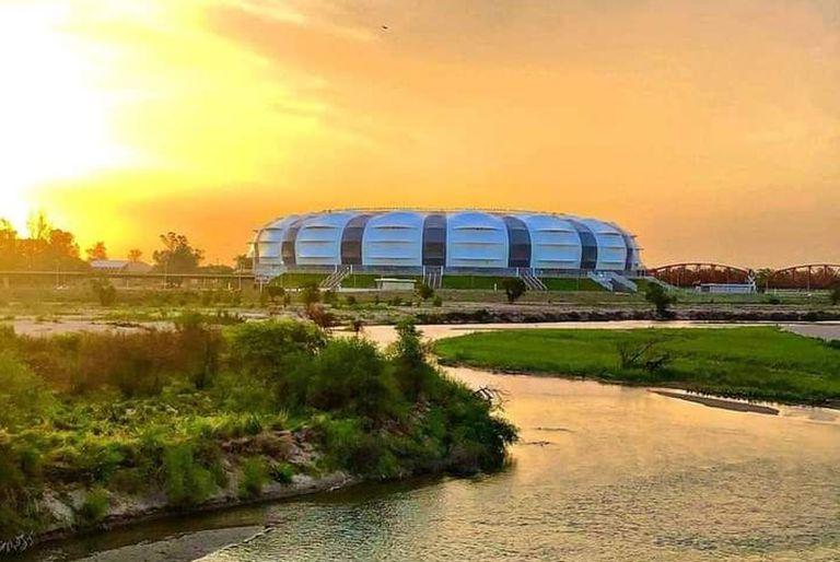 Así se ve el nuevo estadio de Santiago