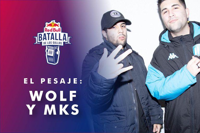 El pesaje, el podcast de Batalla de los Gallos: MKS se mide con Wolf