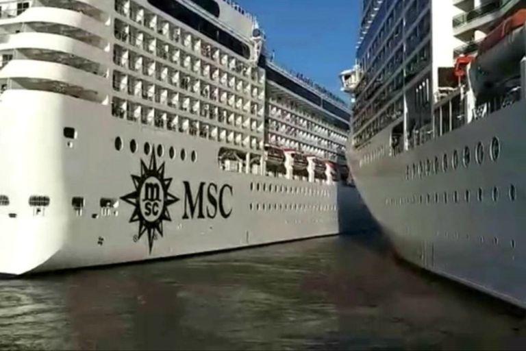 Las embarcaciones que colisionaron pertenecen a la misma empresa