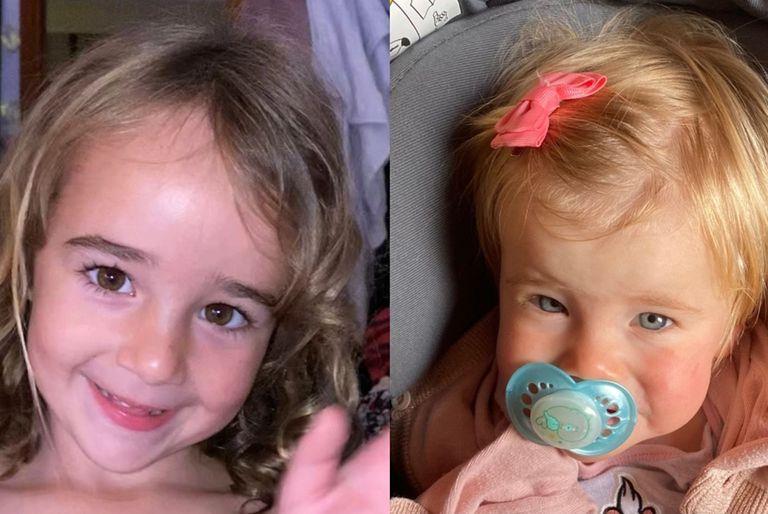 Olivia y Ana, las niñas presuntamente secuestradas por su padre en Tenerife
