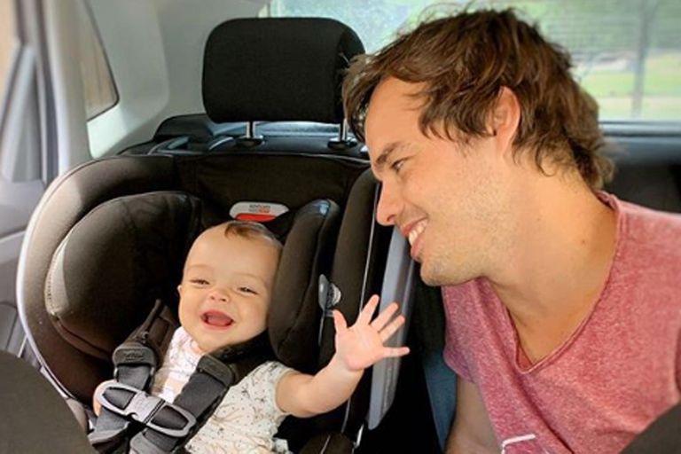 Benjamín Rojas, enternecido: su hija lo reconoció en televisión por primera vez