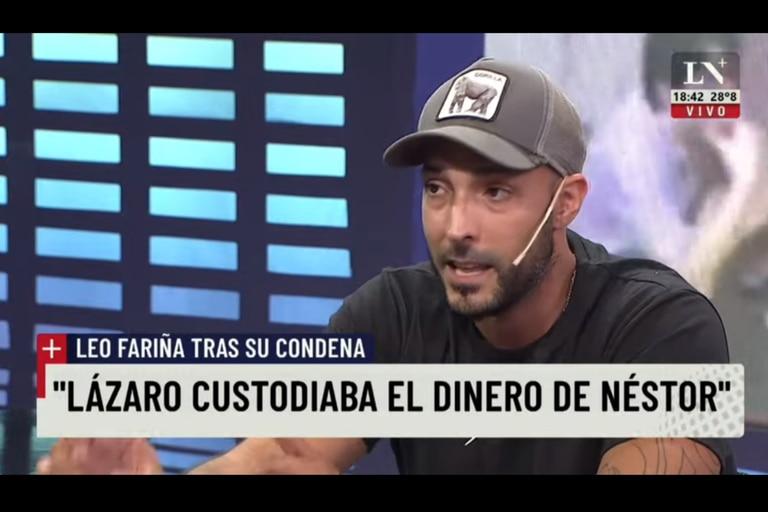 """Leonardo Fariña: """"Yo canalizaba lo que iba a hacer. El dinero iba a cuevas, compra de bienes"""""""