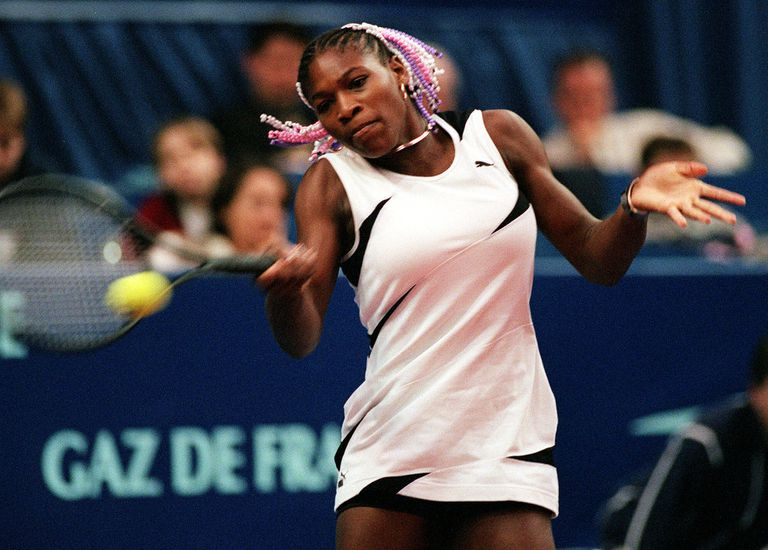 Una postal del siglo pasado: Serena, con 17 años, en el Open Gaz de Francia