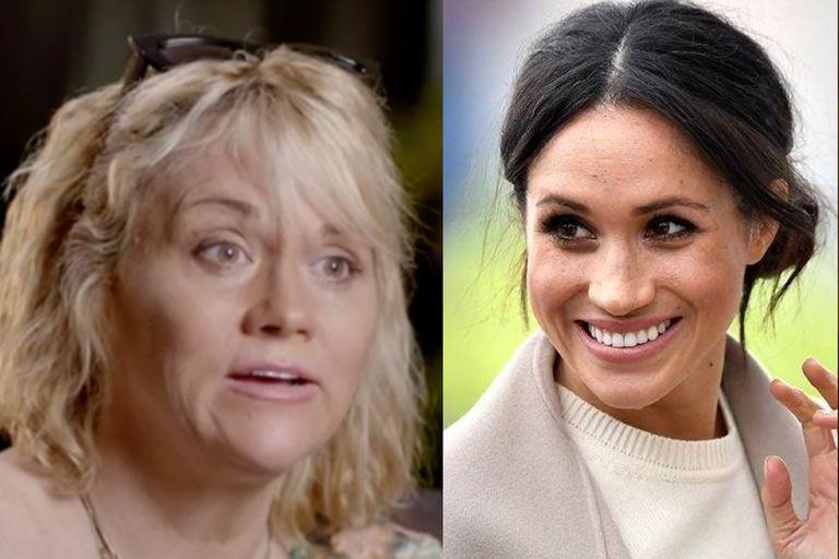 Samantha Markle, la media hermana de Meghan Markle, se despachó con declaraciones durísimas contra ella y el príncipe Harry