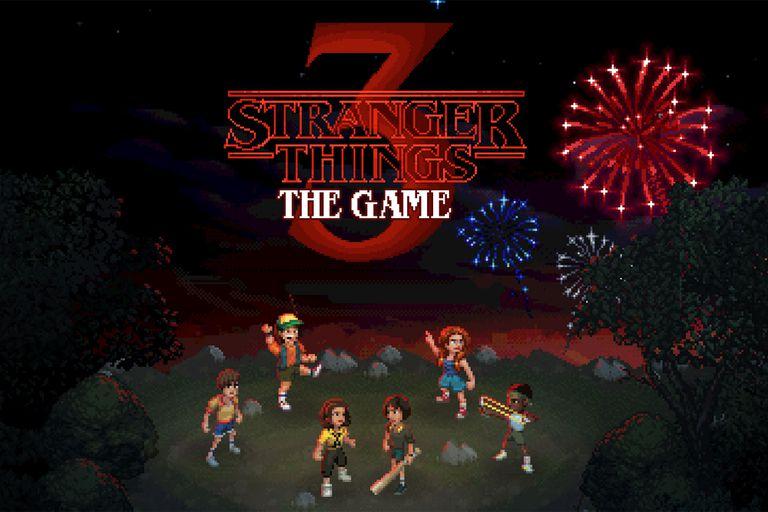 La adaptación al videojuego de Stranger Things tendrá una estética retro de los títulos de la época, con diseños pixelados