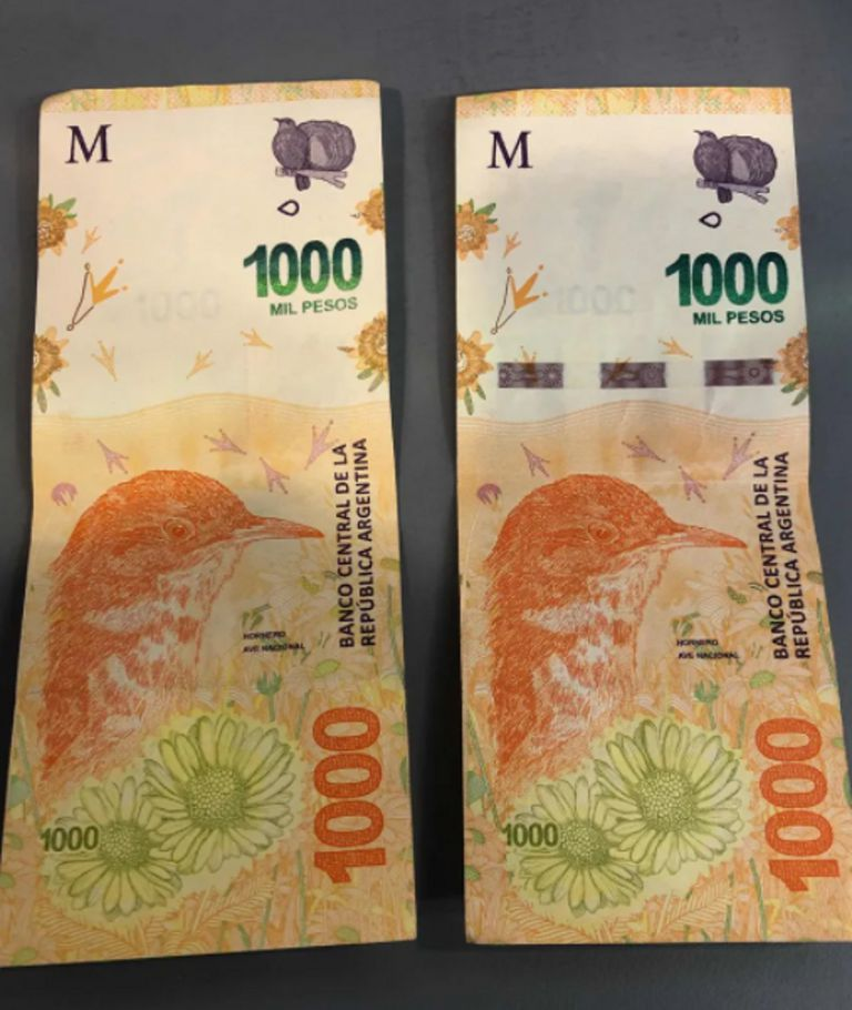 El billete de $1000 que venden en Mercado Libre por $20000