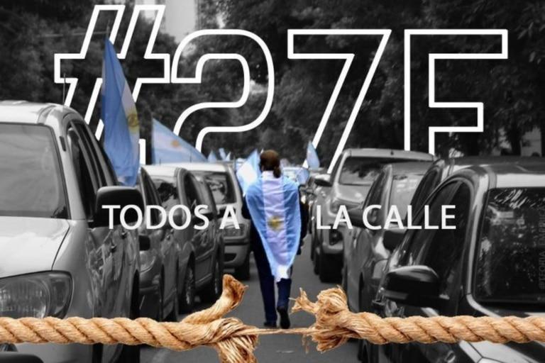 El 27 de febrero marcharán los opositores la Gobierno en todo el país