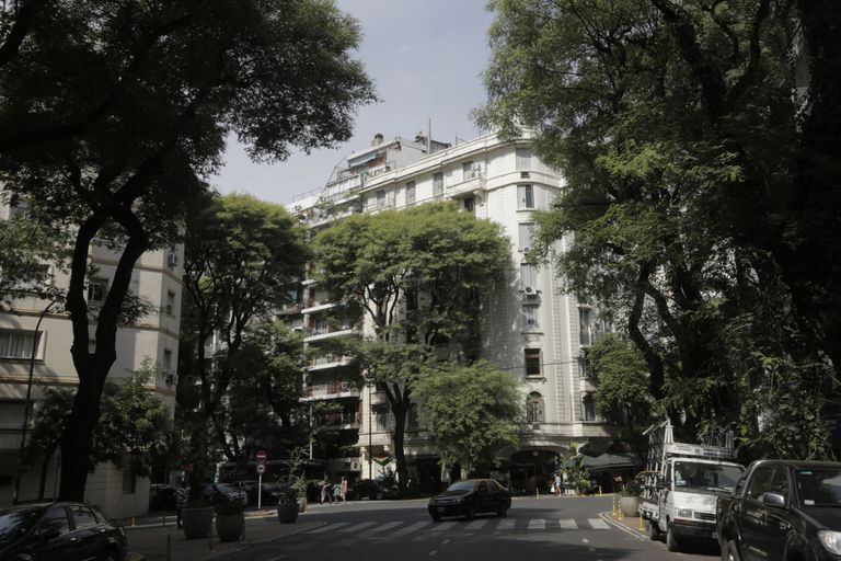 Avenida Coronel Díaz, un eje emblemático de la zona