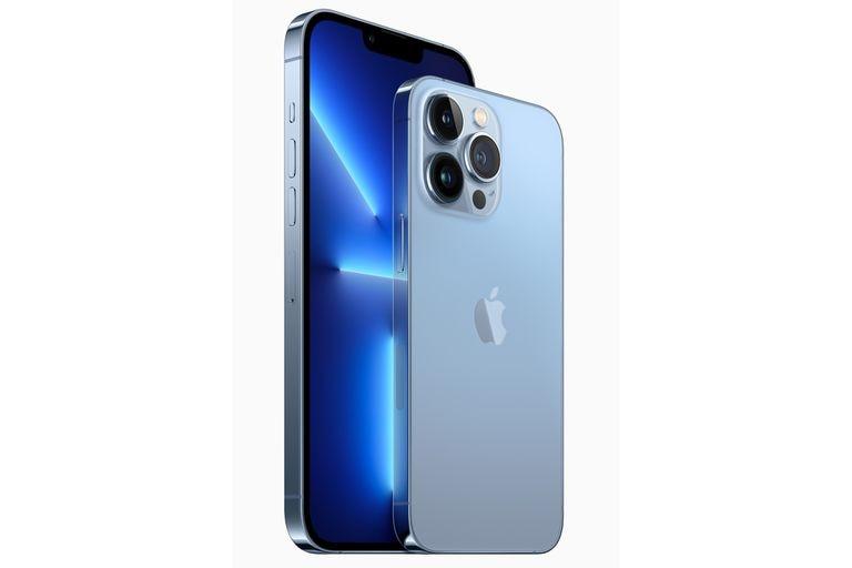 El iPhone 13 Pro tiene una pantalla de 6,1 pulgadas, y el iPhone 13 Pro Max es de 6,7 pulgadas, y se ubican como los modelos más completos y costosos de Apple