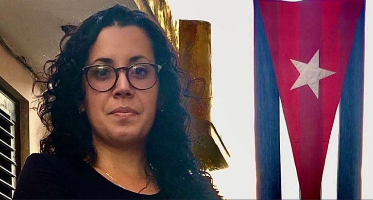Camila Acosta, la periodista y corresponsal del sitio ABC en La Habana (Cuba)