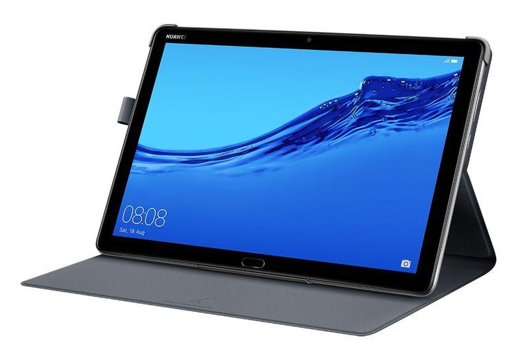 Tablet para toda la familia. La Huawei MediaPad M5 lite tiene una pantalla de 10,1 pulgadas para poder ver películas y usar videojuegos. (Desde $38.999)