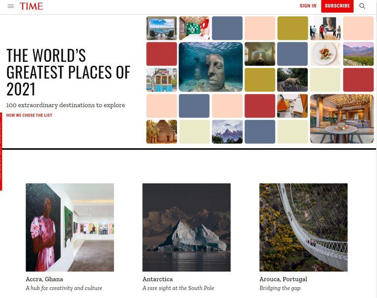 La revista TIME eligió los cien mejores lugares de 2021 y uno de ellos está en la Argentina