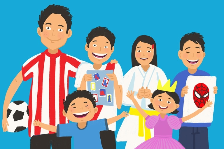 Tienen entre 11 y 4 años y pasaron gran parte de sus vidas en un hogar; días atrás, se lanzó una convocatoria pública abierta a toda la comunidad para restituirles el derecho fundamental a vivir en familia