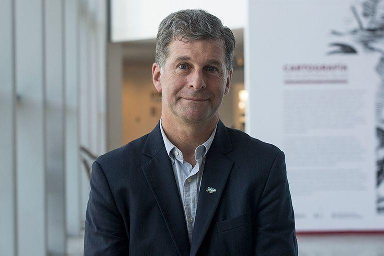 Edgardo Esteban, veterano de guerra y director del Museo Malvinas