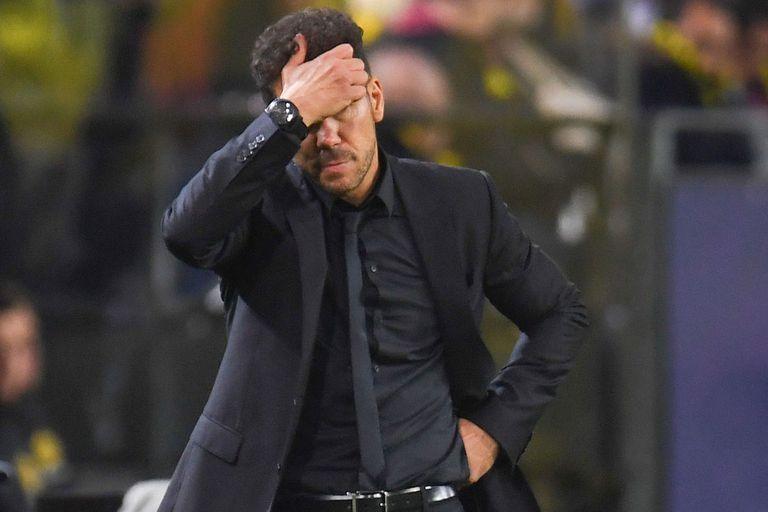 Champions League: la peor derrota de Simeone en sus 12 años como DT