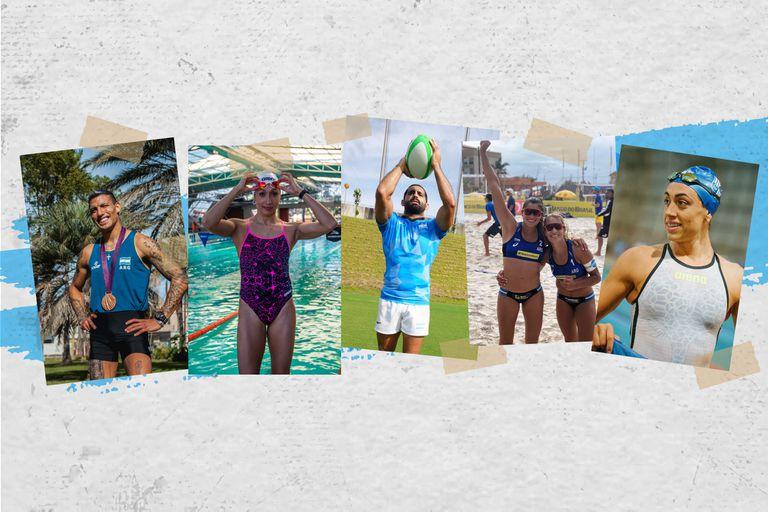 Conocé la historia de 6 deportistas que representan al país en los Juegos Olímpicos y Paralímpicos Tokio 2020