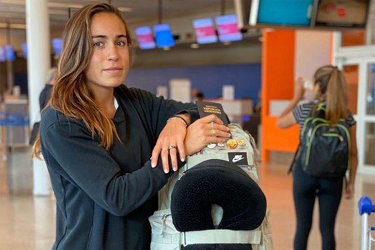"""Ejemplo. La mejor atleta argentina, varada: """"Con tal de no contagiar, me quedo"""""""