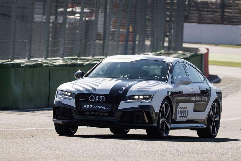 El Audi RS7 adaptado para funcionar en forma autónoma