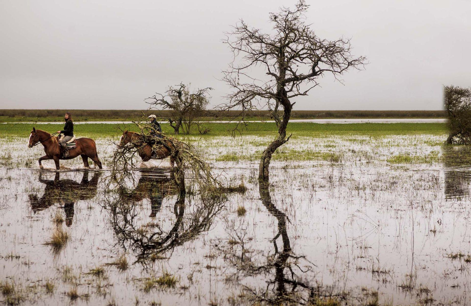 Recorrida a caballo en Rincón del Socorro.