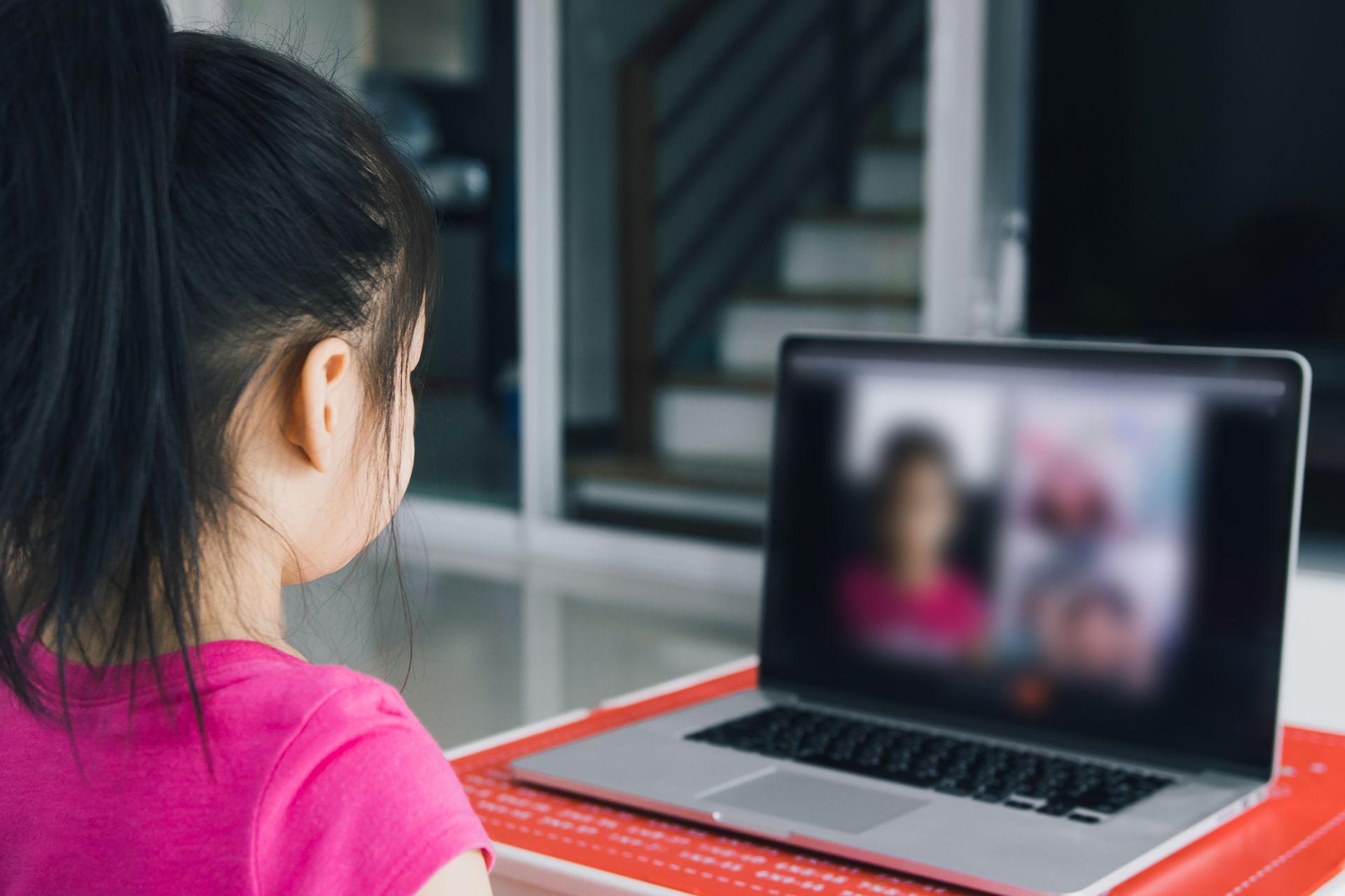 La virtualidad no es fácil para los menores de 5 años