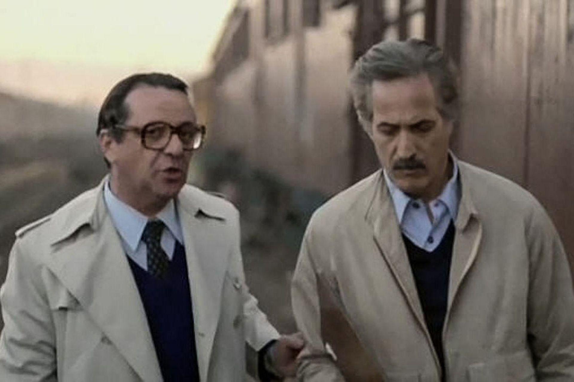 Julio de Grazia y Federico Luppi en Tiempo de revancha (1981), de Adolfo Aristarain