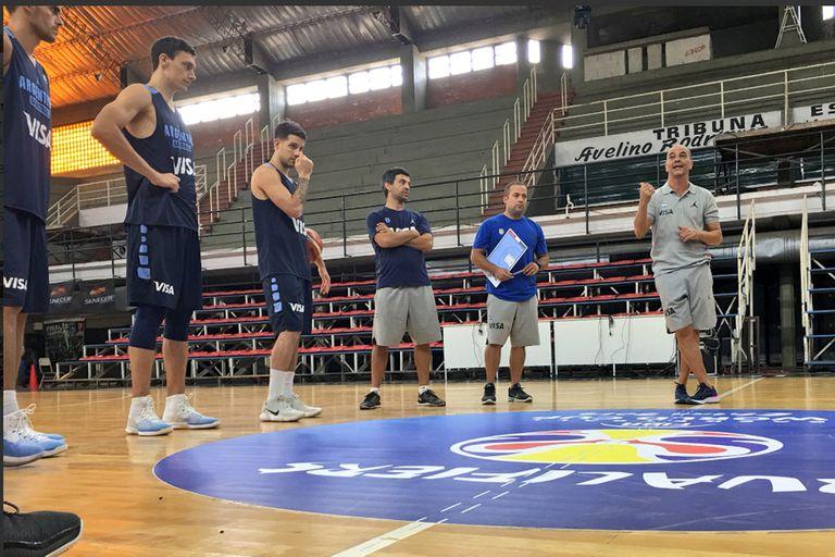 Eliminatorias de básquet: Argentina y un buen examen ante Uruguay en Olavarría