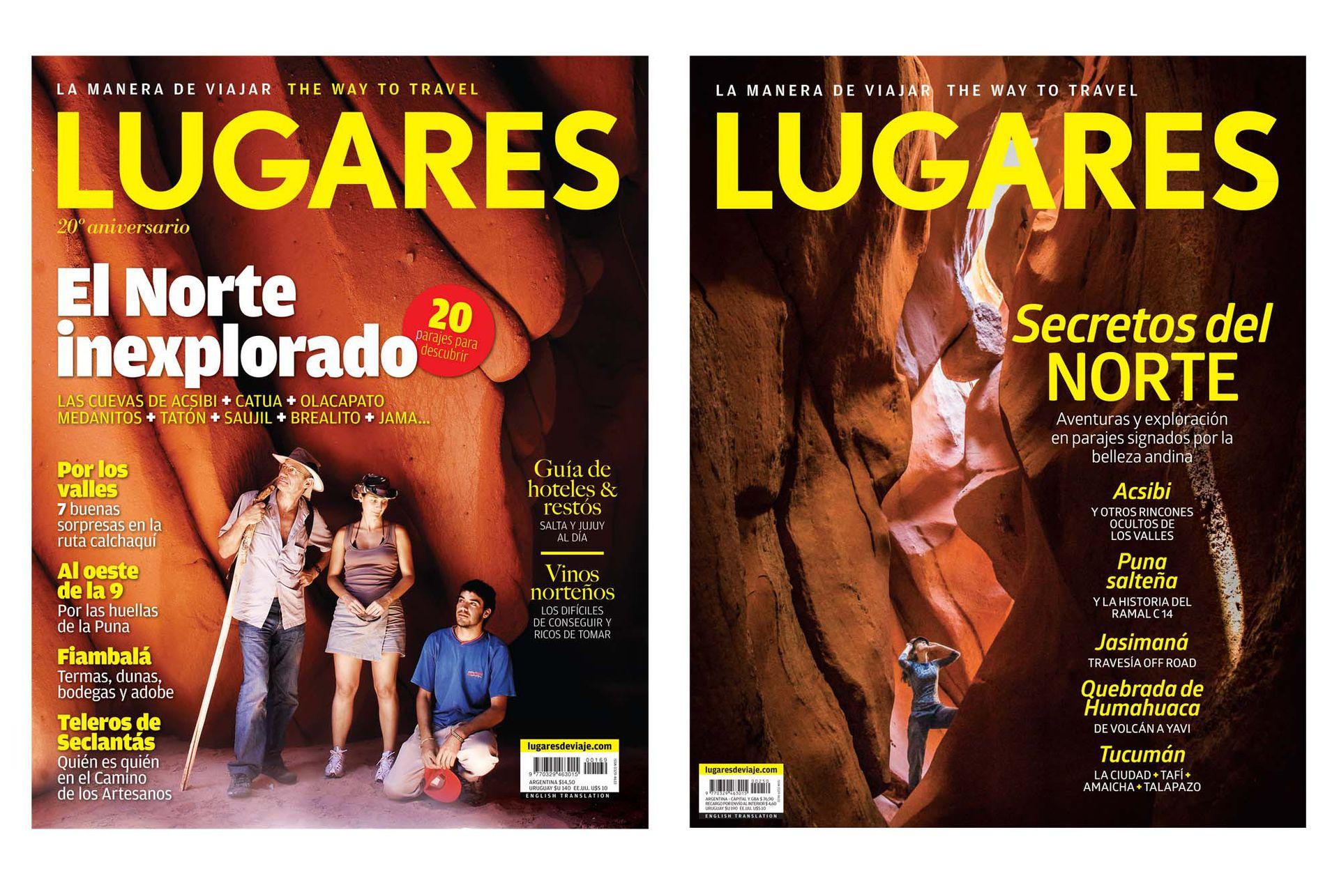 LUGARES acompañó el crecimiento de Acsibi como destino turístico. Fue tapa en 2010 y en 2017.