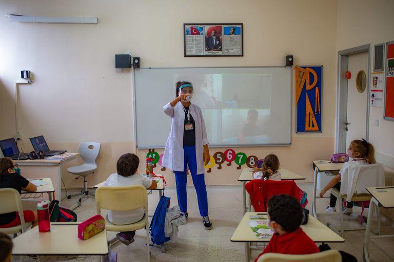 Los centros educativos abrieron en Turquía