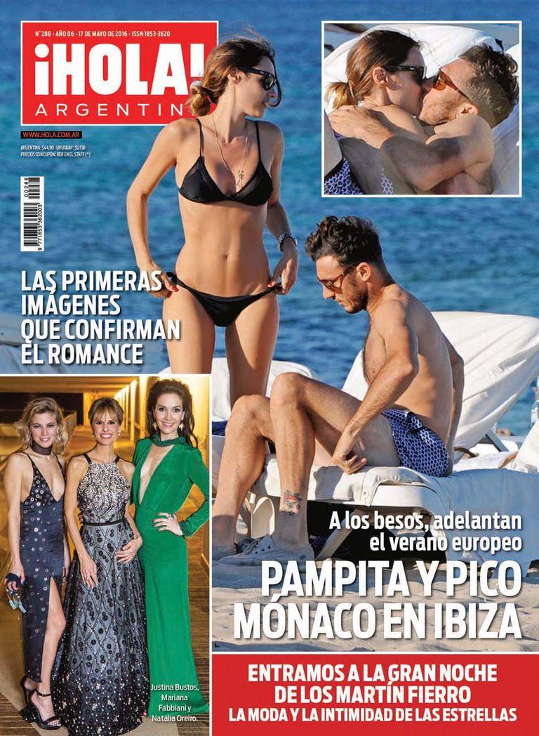 El romance se hizo oficial en mayo de 2016, cuando ¡Hola! los descubrió en Ibiza.