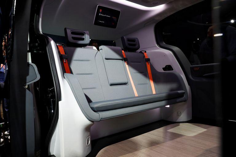 El Cruise Origin puede llevar a seis pasajeros y su conducción es autónoma; no tiene volante ni pedales
