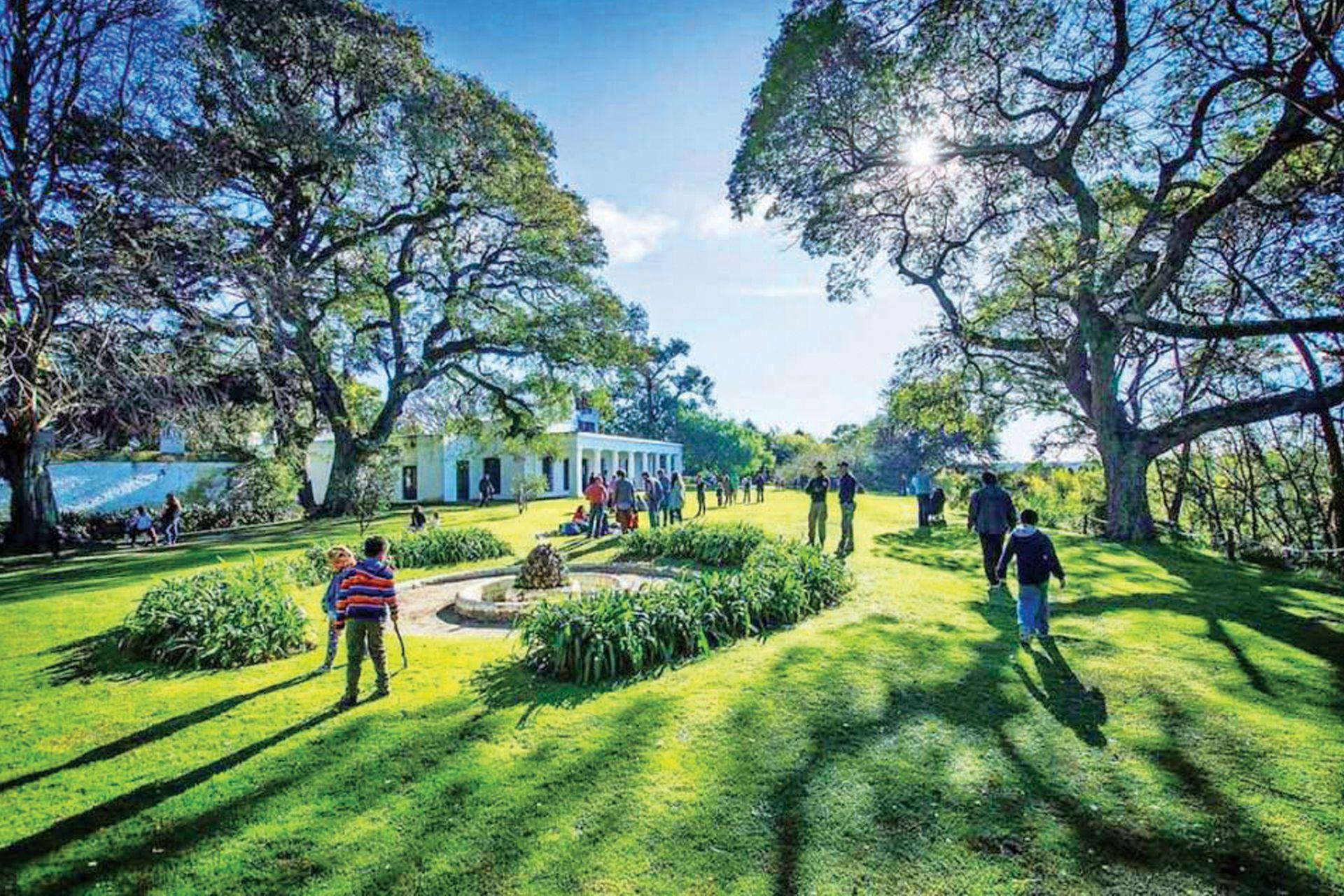 El maravilloso parque de la Quinta Pueyrredón