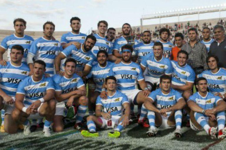Argentina XV le ganó con autoridad a Chile