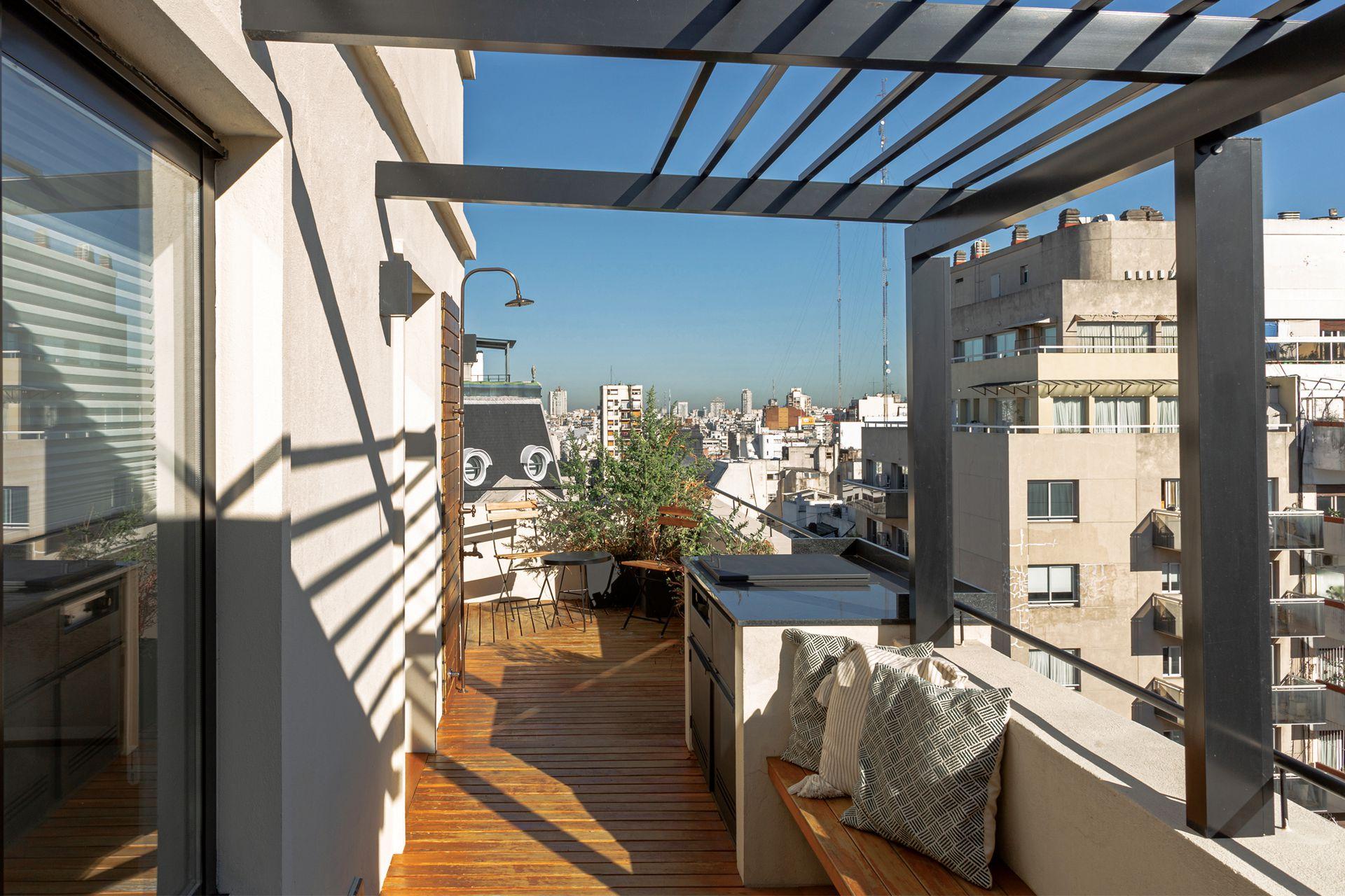 Ahora sí, la terraza es un espacio del que nadie quiere irse