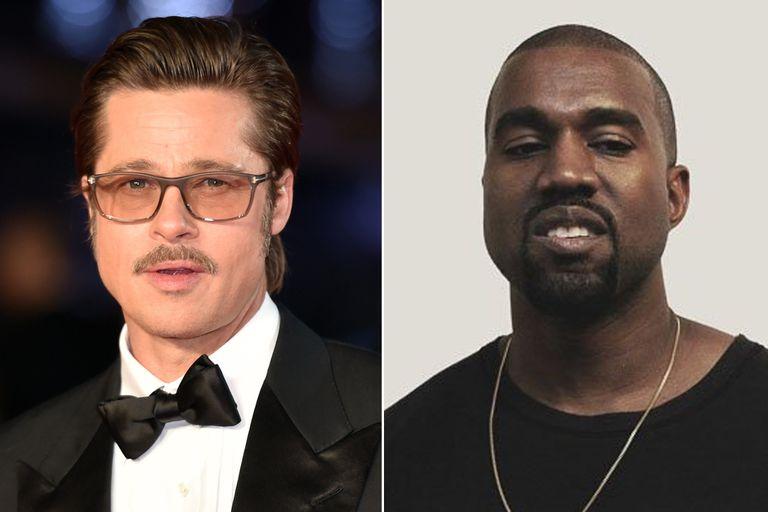 La amistad menos pensada: los motivos de la unión entre Brad Pitt y Kanye West