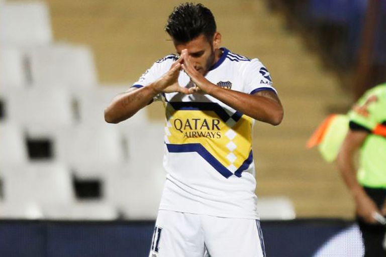 Eduardo Salvio, uno de los puntales de esta versión de Boca campeón