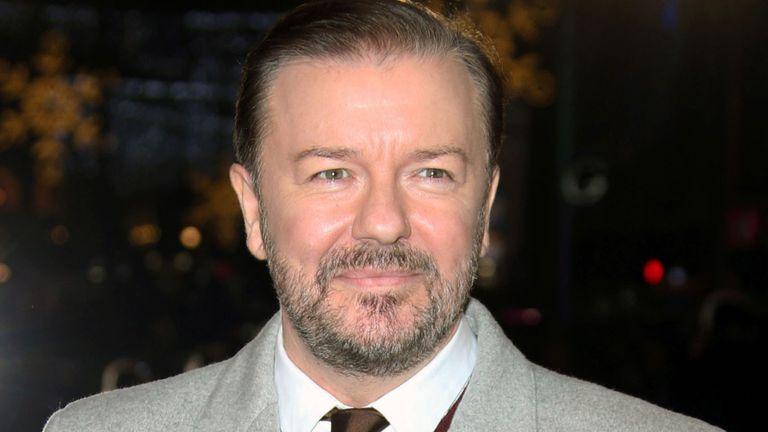 Gervais, otra vez presentará los Globos de oro