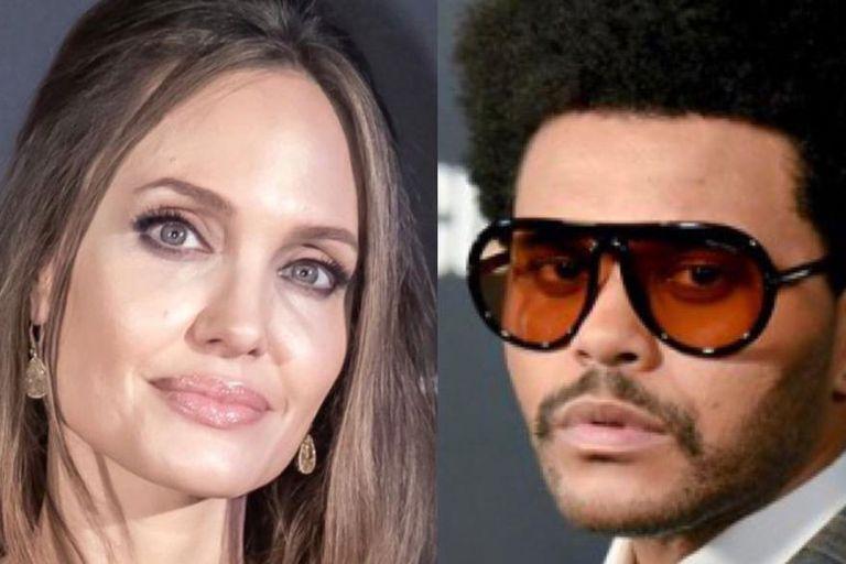 ¿Nace el amor? Angelina Jolie y The Weeknd volvieron a cenar juntos