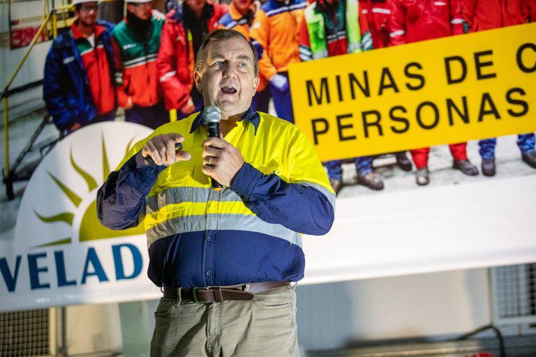 El CEO de Barrick anunció una nueva etapa para la mina Veladero
